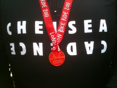 Brian's medal